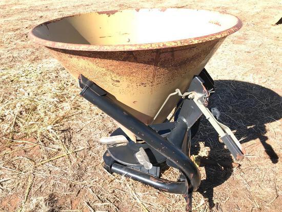 3 Pt Hitch Land Pride FS500 Fertilizer Spreader