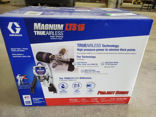 New Mangum LTS15 Paint Sprayer