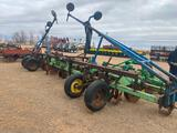 BIGHAM BROTHERS 8 ROW 40? 3 PT. D.S.B. DISC BEDDER, S/S MARKERS, 2 SETS G.W.