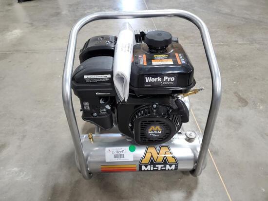 Unused Mi-T-M Air Compressor