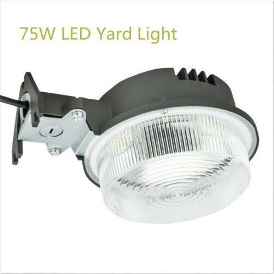 LED Yard Light 75W Dusk to Dawn 9000 Lumens