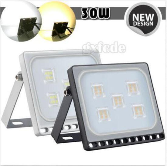 (10) 30W LED Flood Lights