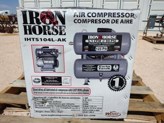 Unused Iron Horse Air Compressor