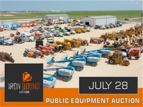 Day 1 July 2021 Public Equipment Auction