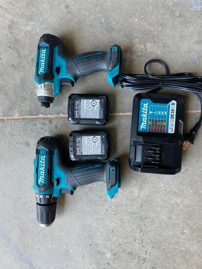 Unused Makita 12V Combo Drill Set