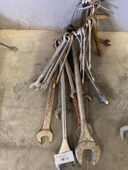 Wrench Set Different Sizes