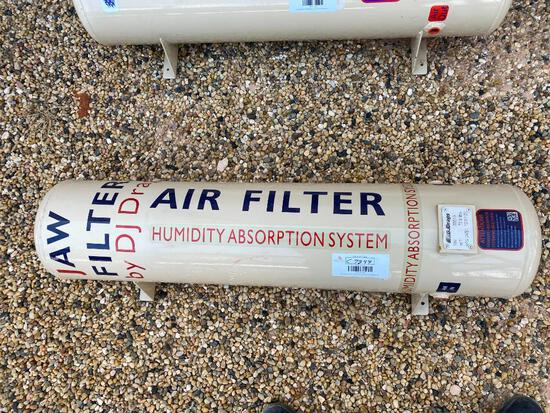 Unused Air Filter Humidity Absortion System