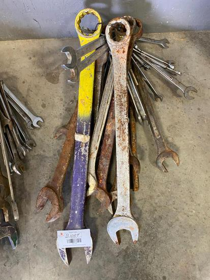 Wrench Set Diffrent Sizes