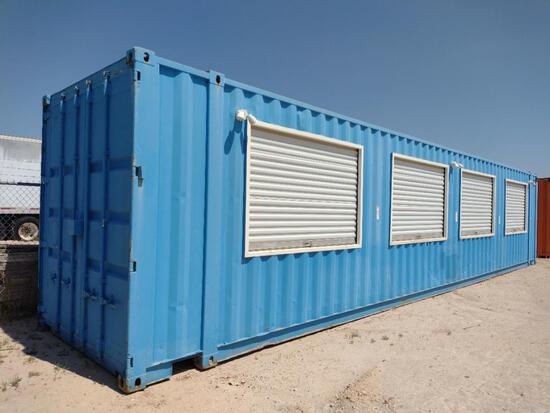 40 Ft Container Firework Stand