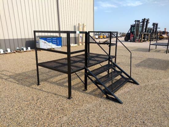Metal Stairs for Mobile Home