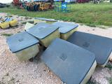 (7) John Deere Fertilizer Boxes