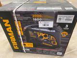 Unused Firman W2000i Generator