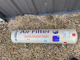 Unused Air Filter Humidity Absorption System