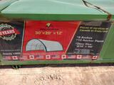 Unused Golden Mountain Dome Storage Shelter 30ft x 20ft x 12ft