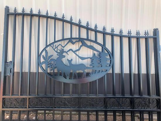 Unused Greatbear 20ft Bi-Parting Iron Gate