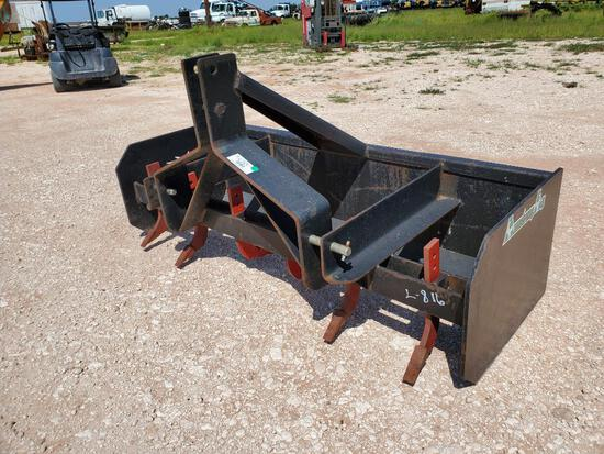 """72"""" 3Pt Hitch Armstrong AG Box Blade"""