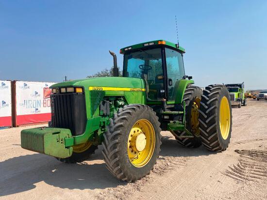 John Deere 8400 Tractor with Duals