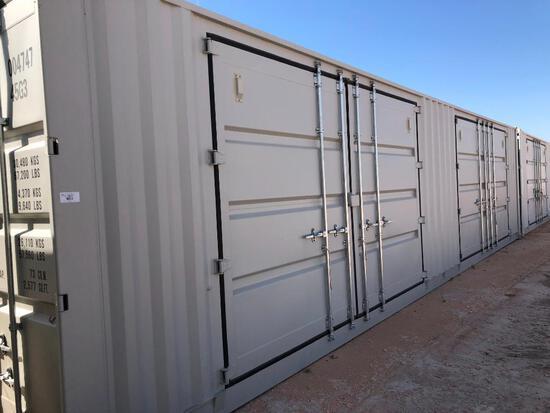 Unused 40 Ft High Cube Multi Door Container