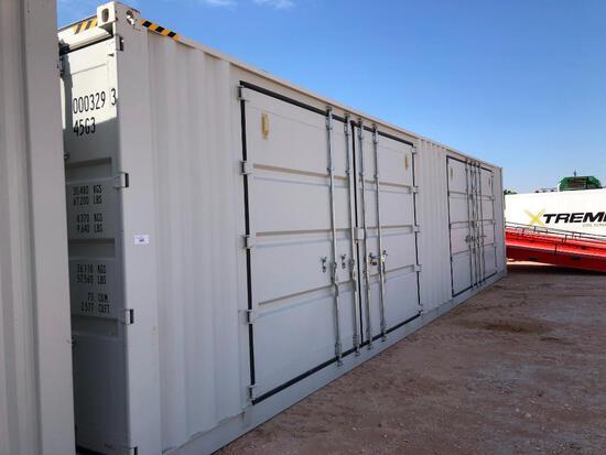 40 Ft High Cube Multi Door Container