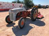 Ford Tractor with Shredder