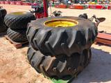 (2) Tractor Wheels/Tires