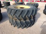 (2) Tractor Wheels & Tires 20.8 R 38