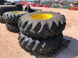 (2) Cotton Stripper Wheels/Tires 18.4-26