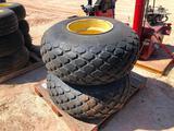 (2) Swather Wheels/Tires