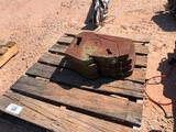 Lot of 4 Tractor Weights