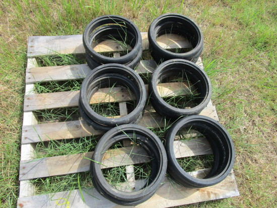 Pallet of Rubber for Planter Wheels