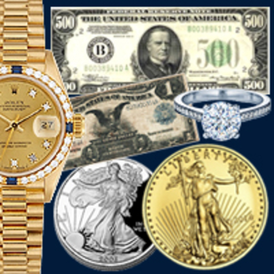 U.S Coins & Currency, Luxury Watches & More!
