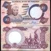 1984 Nigeria 5 Niara Note GEM Crisp Unc Note
