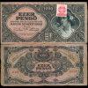 1945 Hungary 1000 Pengo Note Hi Grade Scarce