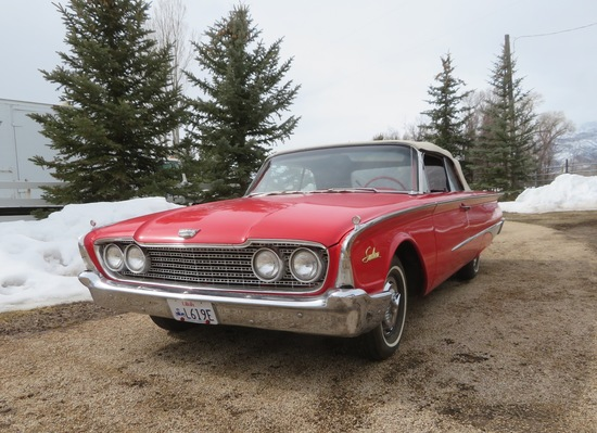 1960 Ford Sunliner | Collector Cars Classic & Vintage Cars