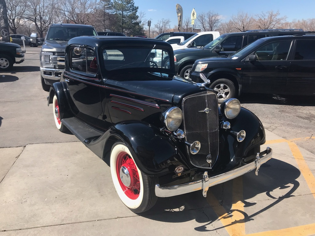 Lot: 1935 Chevrolet 3 Window Coupe | Proxibid Auctions