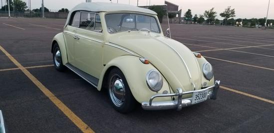 1963 Volkswagen Bug Convertible