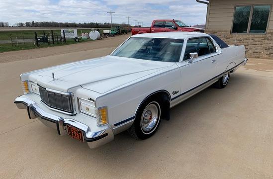 1977 Mercury Grand Marquis Two Door Hardtop