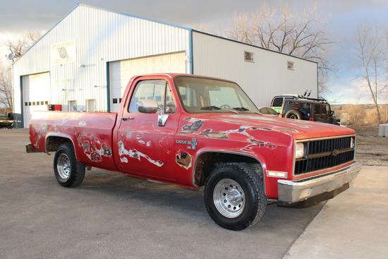 1982 Chevrolet C10 Pickup Truck