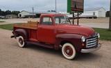 1951 GMC 3600 5 Window Pickup Truck