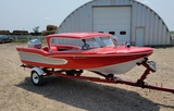 1958 Glastron Surflite Boat