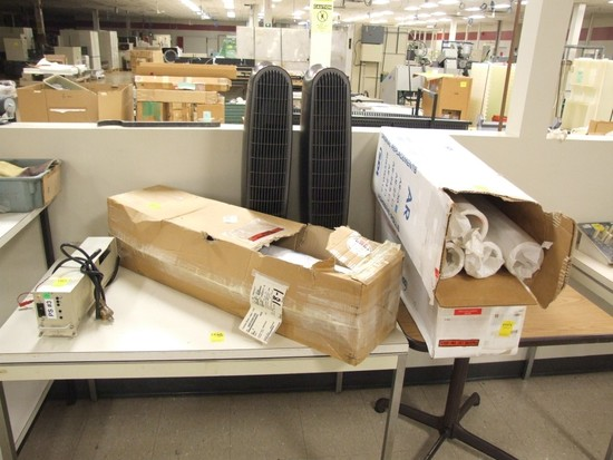 Teknek Clear Machine Adhesive Roll, 3' Rack Mtd  Power