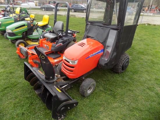 Simplicity Regent EX Garden Tractor w/ Cab, 46'' Mower, Bagger (Clinton)