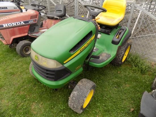 JD 155G Garden Tractor - NO Deck