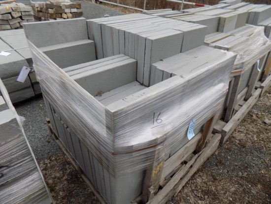 Pallet of 2'' Thermaled Pattern, Assorted Sizes, 177 SF, sold by SF