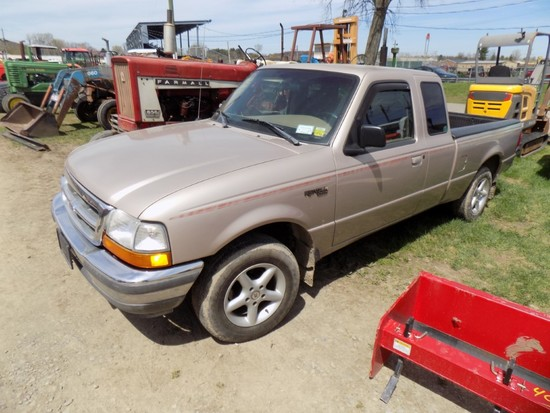1998 Ford Ranger, Brown, 227,800 Mi, Vin #: 1FTYR14U6WTA51229 - HAVE TITLE