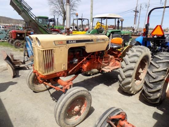 Case 530 Gas Tractor - Runs