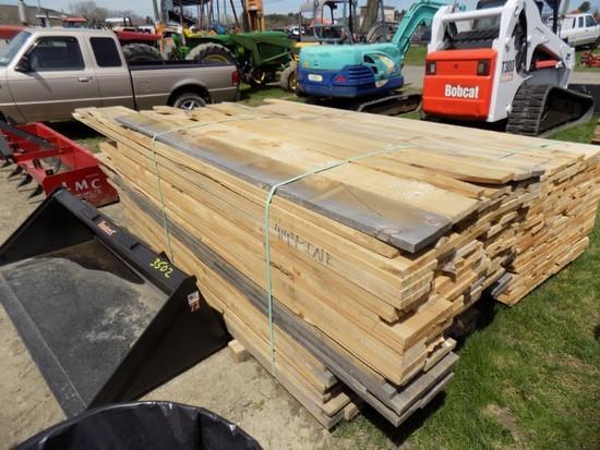 Lg. Group Of Rough Cut Lumber, 4/4 Pine