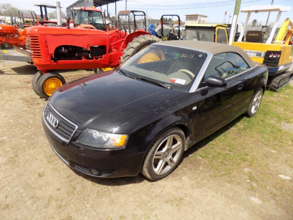 2004 Audi A4, Black, 119,974 Mi, New Parts List, Vin #: WAUAT48H74K003692 -