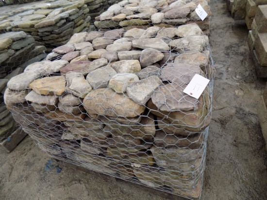 Pallet of Full-Color Flat Creekstone/Colonial, Sold by Pallet