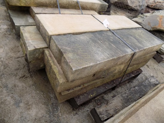 Pallet of (6) 6'' x 16'' x 5'-6' Cut Steps, Lilac/Bronze, 44 SF Sold by The